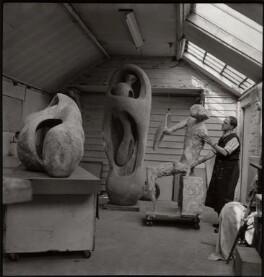 Henry Moore, by Ida Kar - NPG x132994