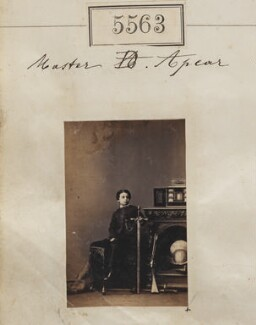 Master Apcar, by Camille Silvy, 20 August 1861 - NPG Ax55518 - © National Portrait Gallery, London