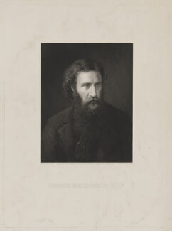 George MacDonald, by Richard Austin Artlett, published by  Henry Graves & Co, after  Sir George Reid - NPG D38074