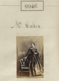 Mrs Oakes, by Camille Silvy - NPG Ax59664