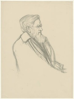 Alfred Russel Wallace, by William Rothenstein - NPG D38007