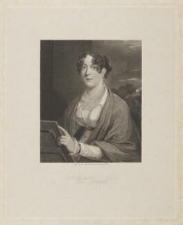 Eadey Frewer (née Jacob), by William Camden Edwards, after  Joseph Clover - NPG D38435