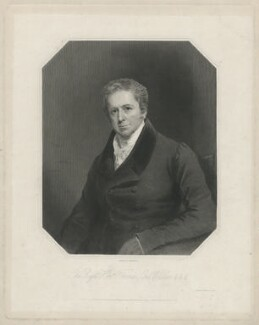 Thomas Wallace, Baron Wallace, by Joseph Brown, printed by  Wilkinson & Dawe, published by  R. Ryley, published by  James Fraser, published by  Sir Francis Graham Moon, 1st Bt - NPG D38009