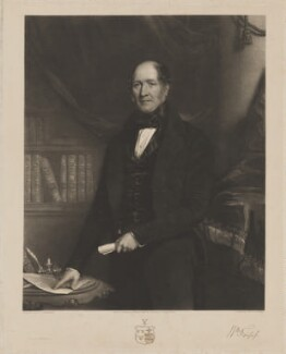 William Fripp, by George Thomas Payne, printed by  S.H. Hawkins, published by  C. Mitchell, after  Henry Spurrier Parkman - NPG D38438