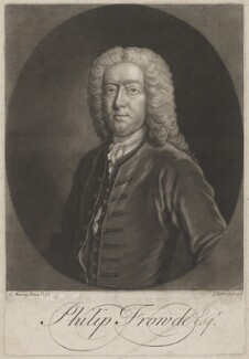 Philip Frowde, by John Faber Jr, after  Thomas Murray - NPG D38440
