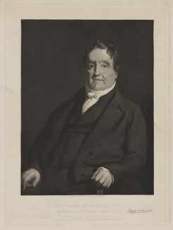 John McDonald, by James Sinclair, printed by  Alexander McGlashon (McGlashan), published by  Alexander Hill - NPG D38078
