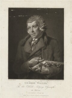 George Wallis, by John Raphael Smith, published by and after  John Harrison Jr - NPG D38501
