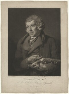 George Wallis, by John Raphael Smith, published by and after  John Harrison Jr - NPG D38502