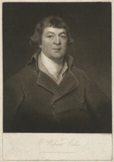 William Wallis, by Charles Turner, published by  Robert Cribb & Son, after  John Keenan - NPG D38505