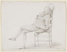 Henry Fuseli, by W. Brown - NPG D38447