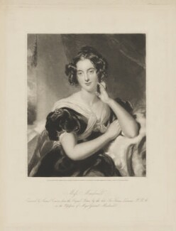 Julia Errington (née Macdonald), by Samuel Cousins, published by  Martin Colnaghi, after  Sir Thomas Lawrence - NPG D38084