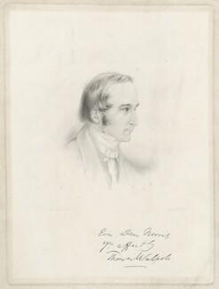 Hon. Thomas Walpole, by Francis Holl, after  W.F. Norris - NPG D38510