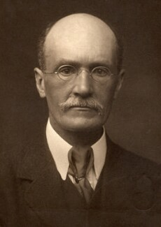 (George) Gilbert Aimé Murray, by George Charles Beresford - NPG x12907