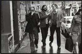 Jeffrey Joseph Bernard; Martin Tomkinson; Richard Ingrams, by Eric Hands - NPG x133192