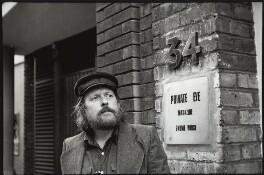 Willie Rushton, by Eric Hands - NPG x133199