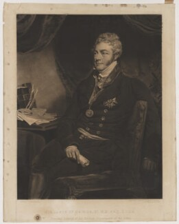 Sir James McGrigor, 1st Bt, by William Ward, after  John Jackson - NPG D38090