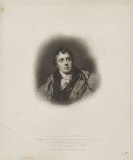 Sir James Mackintosh, by Charles Wilkin, published by  T. Cadell & W. Davies, after  Sir Thomas Lawrence, published 16 August 1814 (exhibited 1804) - NPG D38102 - © National Portrait Gallery, London