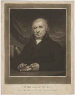 Archibald McLean, by Charles Turner, published by  John Steell, after  George Watson - NPG D38109