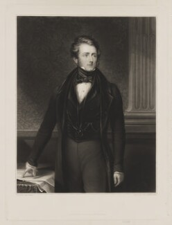 Donald Maclean, by Samuel Cousins, published by  James Wyatt & Son, after  John Bridges - NPG D38110
