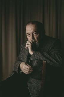 Sir Peter Hall, by Richard Cannon - NPG x133235