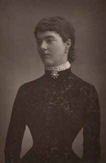 Georgina Elizabeth Ward (née Moncreiffe), Countess of Dudley, by W. & D. Downey, published by  Cassell & Company, Ltd - NPG x10699