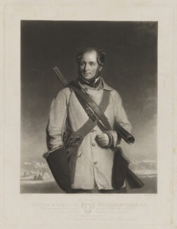 Sir Robert McClure, by James Scott, published by  Henry Graves & Co, after  Stephen Pearce - NPG D38113