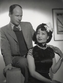 Roy Francis Plomley; Diana Beatrice Wong, by Fred Daniels - NPG x133245