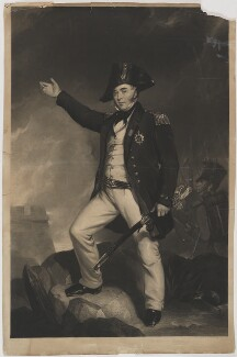 Sir Charles Napier, by W. Carlos, after  Thomas Musgrove Joy - NPG D38454