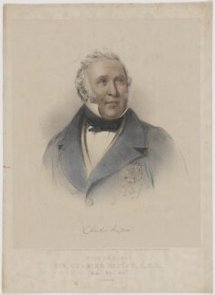 Sir Charles Napier, printed by M & N Hanhart, published by  Mr Skelton, after  Alfred Henry Taylor - NPG D38455