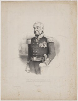 Sir Charles Napier, printed by Lemercier, published by  Goupil & Co - NPG D38458