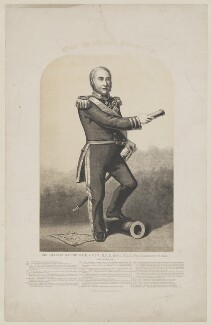Sir Charles Napier, by J.V. Barret, published by  F.P. Davies - NPG D38460