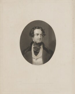 William Charles Macready, by James Posselwhite, printed by  Reynolds & Draysey, published by  Marseille Middleton Holloway, after  Frederick A.C. Tilt - NPG D38128
