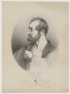 William Charles Macready as Werner, by Napoleon Ploszczynski, printed by  M & N Hanhart, published by  Joseph Sandell Welch, after  John Deffett Francis - NPG D38131