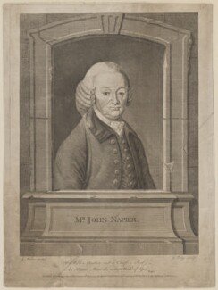 John Napier, by and published by John Lodge, after  James Millar - NPG D38464