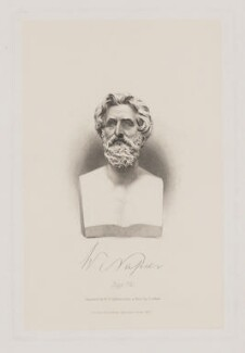Sir William Francis Patrick Napier, by William Henry Egleton, published by  John Murray, after  George Gammon Adams - NPG D38468