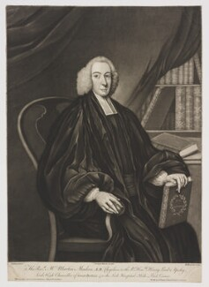 Martin Madan, by Richard Houston, published by  Carington Bowles, after  M. Jenkin - NPG D38134