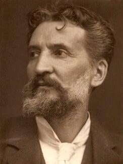 Edward (Edouard) Lanteri, by George Charles Beresford - NPG x19884