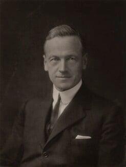 Walter Edward Guinness, 1st Baron Moyne of Bury St Edmunds, by Walter Stoneman - NPG x133257