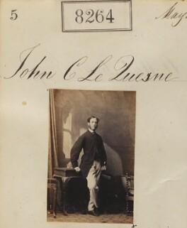 John Charles Le Quesne, by Camille Silvy - NPG Ax58083