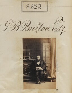 George Bowdler Buckton, by Camille Silvy - NPG Ax58142