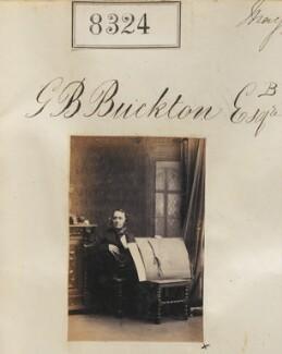 George Bowdler Buckton, by Camille Silvy - NPG Ax58143