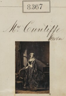 Agnes Cunliffe-Owen (née Cubitt, later Mrs Willington), by Camille Silvy - NPG Ax58186