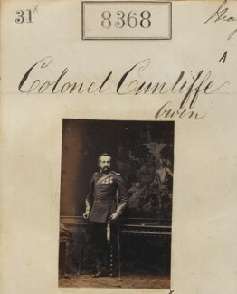 Henry Charles Cunliffe-Owen, by Camille Silvy - NPG Ax58187