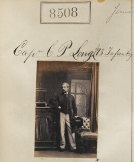 Charles Poore Long, by Camille Silvy - NPG Ax58330