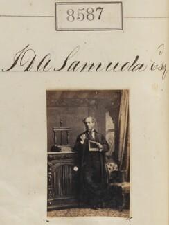 Joseph D'Aguilar Samuda, by Camille Silvy - NPG Ax58410
