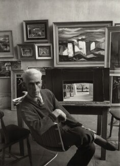 John Piper, by Ida Kar, 1954 - NPG x133211 - © National Portrait Gallery, London