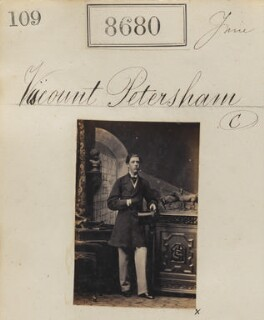 Seymour Sydney Hyde Stanhope, 6th Earl of Harrington, by Camille Silvy - NPG Ax58503