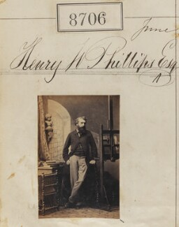 Henry Wyndham Phillips, by Camille Silvy - NPG Ax58529