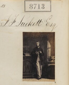 Francis Fox Tuckett, by Camille Silvy - NPG Ax58536