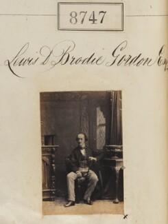 Lewis Dunbar Brodie Gordon, by Camille Silvy - NPG Ax58570